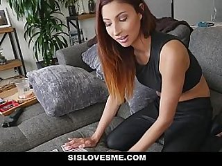 SisLovesMe Hot Sister Shows off Magic Tricks With Her Ass