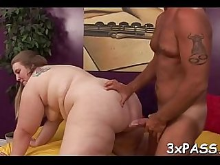 Plump angel from this act definitely knows how to fuck