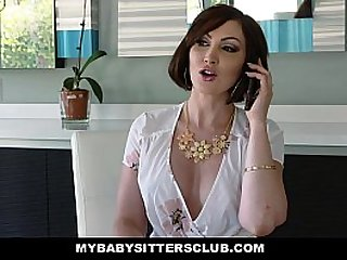 MyBabysittersClub Babysitter Fucked By Boss