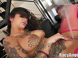 Squirting During Double Penetrations with Slut Bonnie Rotten
