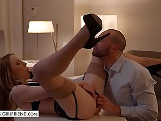 Tonights Girlfriend gets fucked roughly in hotel room