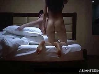 China, Beijing Nerd fucks Asian whore on SPY camera