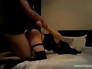 Real Chinese hooker gets spotted and fucked in a hotel