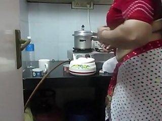 Leena Bhabhi Hot Navel Housewife
