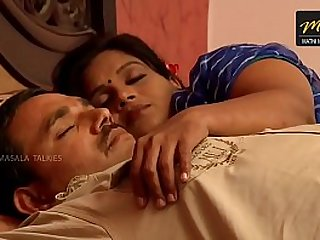 Indian House wife sharing bed with Husband friend when his husband deeply sleeping