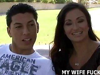 Watching my wife fucking a stranger