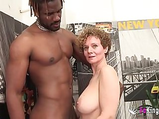 Busty Merce starts new year by GETTING DRILLED BY A BBC