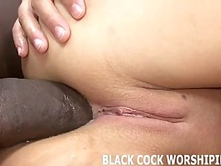 His big black hard long cock is going to destroy my ass