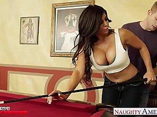 Busty brunette Alexa Pierce gets pussy fucked