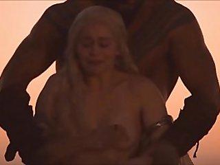Emilia Clarke all sex scenes in Game of Thrones watch full