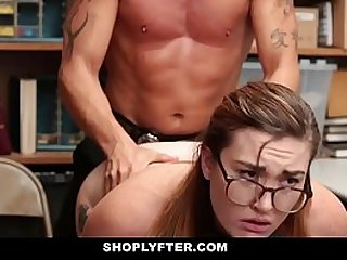Shoplyfter Stripped Down and Inspected For Stealing