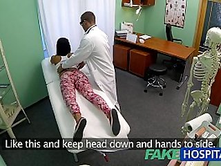 FakeHospital Young blonde teen girl not on birth control bends over