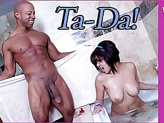 Shane Diesel Gives Latina Vanessa Leon His Big Black hard long black Dick