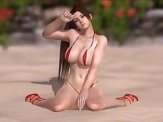 Mai Shiranui in a Micro Bikini