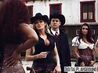 XXX Porn music video Rawhide beautiful big booty babe