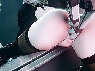 3D Porn UNCENSORED Sex machine