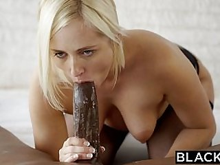 BLACKED Blonde Kate England Gets her Anal From big Black Cock