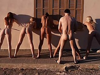 Most beautiful babes in a hot group fuck