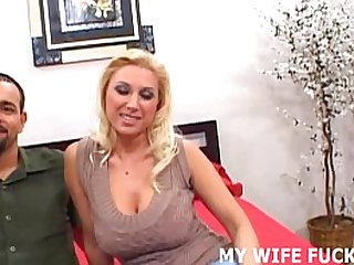 Your wife loves big male pornstar cock