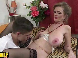 Raina W 50 Horny housewife doing her toyboy