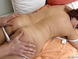 Granny got fucked after massage Red Mary