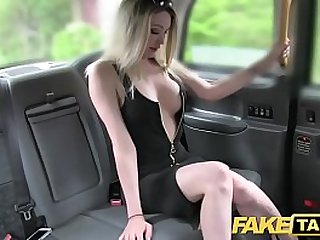 Fake Taxi Super hot blonde with a great body loves huge cock