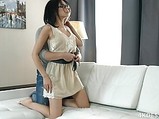 Beautiful Teen Girl Tries Anal With Her Boyfriend! in
