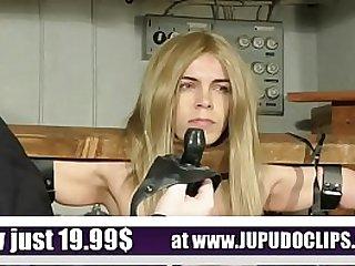 Slave Training Punishment Blonde Student