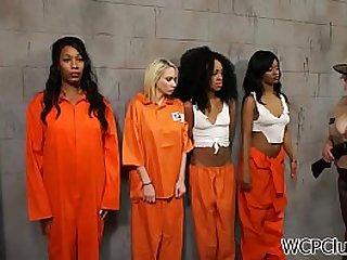 Gorgeous Black Milfs in Orange