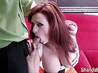Kinky Girl Shanda Fay Gives BJ!