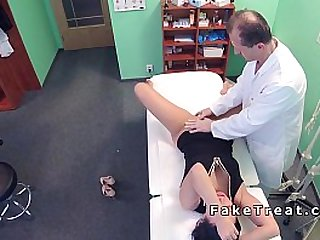 Doctor fucks nurse and patient in same day