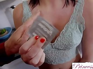 PrincessCum Begging For Step Daddys Cum In Her Pussy!