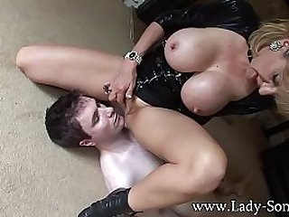 Lady Sonia Breast Smothered