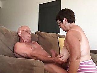 Grandma giving blowjob in Cabo 2016