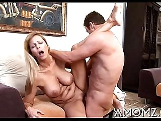 Fancy older fucked from behind