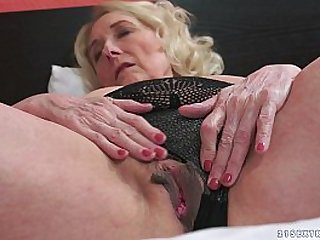 Horny Granny And Her Younger Lover
