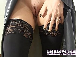 She tries on raincoats and boots while sucking your hard cock cumshot