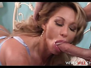 Huge round Tits MILF Step Mom Farrah Dahl Has Sex With Stepson While His Dad Watches On Security Cam