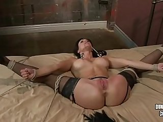 Kendra Lust tied and fucked