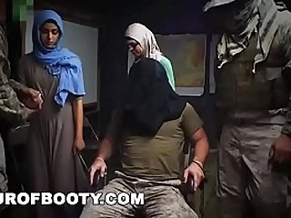 TOUR OF BOOTY Rag Tag Soldiers Fuck Their Way Through The Middle East