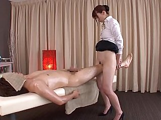 Subtitled traditional Japanese massage Yui Hatano