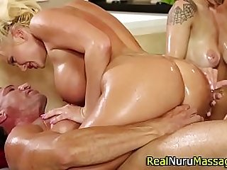 Fetish nuru masseuse fuck