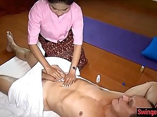 Asian massage from Thailand gives full service