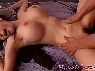 Busty Japanese Miho Ichiki pov cock stud ride