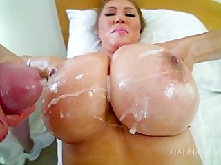 Big Tit Kianna Facial Compilation