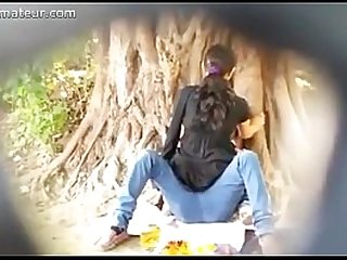 Spying on Indian Couple fucking in Park