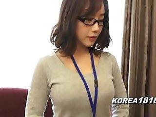 Hot Korean Girl wearing Glasses