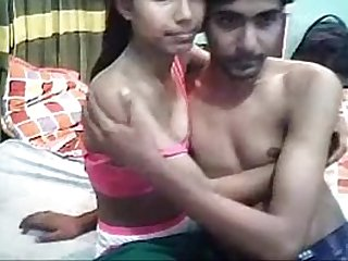 Desi Indian Young Lovers Full Fucking on Webcam