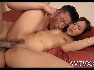 Ravishing a juicy asian vagina