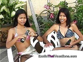 Hot Thai Lesbians Inside look at Thailands sex tourist destinations